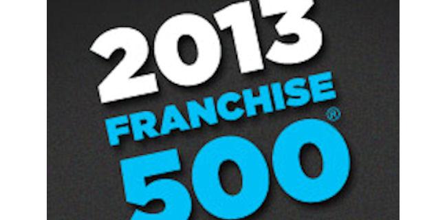 logo: 2013 Franchise 500