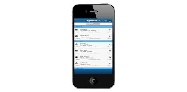 screenshot: Marathon app
