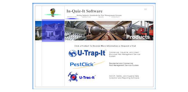 screenshot: in-quiz-it software