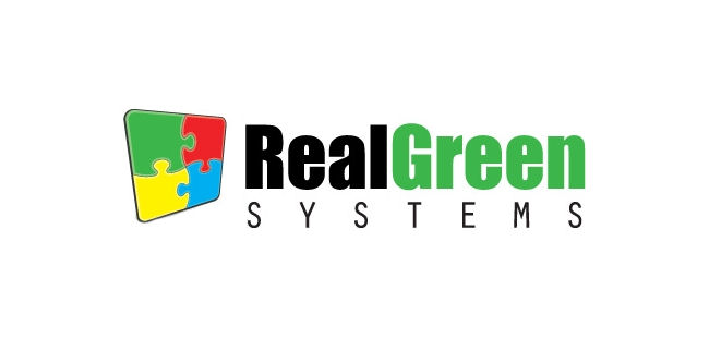 LOGO: REAL GREEN SYSTEMS