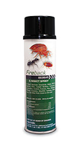 Nisus Corporation: Fireback Bedbug & Insect Spray