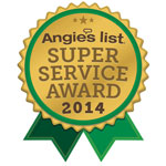 Angie's List 2014 award