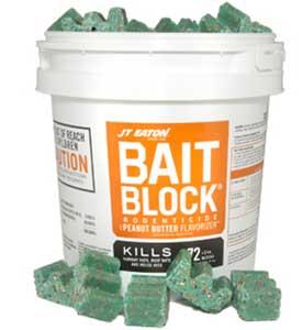JT Eaton Peanut Butter Bait Block