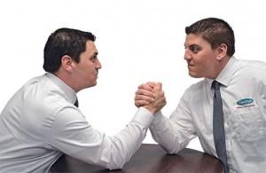 Eric and Kurt Scherzinger debate the relationship between services and sales.