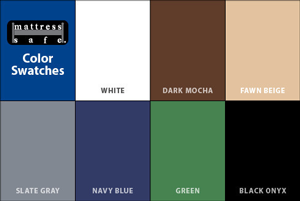 Mattress Safe: New colors
