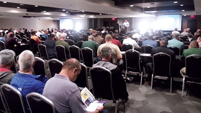 About 230 attendees came to this year's Expo, which was brought West at the request of NWCOA members in that region.
