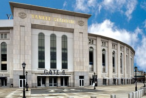Having Yankee Stadium as an account has led to more bird work around the country for Aust and his team.  Photo: Fred Miller, fmfotofm@aol.com