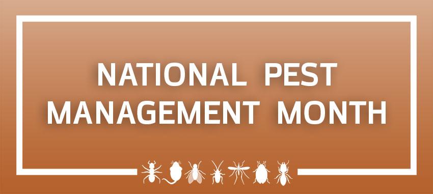 Header: National Pest Management Month