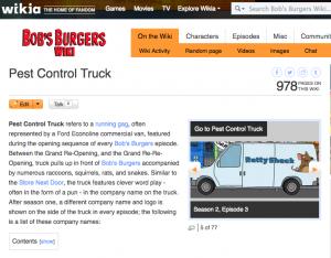 Bob's Burgers' pest-company name generator - Pest Management