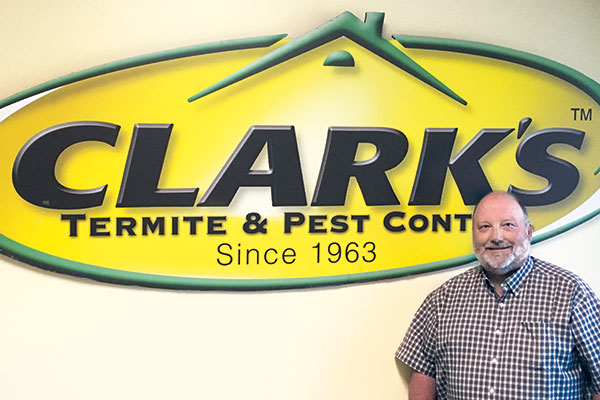 Alan Wilson, entomologist and technical director for Clark's Termite & Pest Control Photo: Clark's Termite & Pest Control