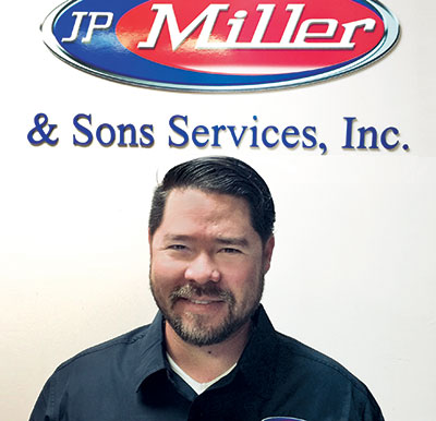 John Miller of JP Miller & Sons Services Photo: JP Miller & Sons Services