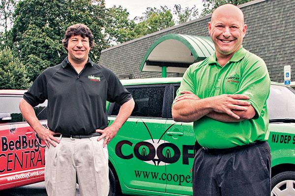 Cooper Pest Solutions' Dr. Richard Cooper (left) and Phillip Cooper Photo: Frank Veronsky