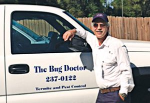 Jerry Schappert  serviced correctional facilities for two decades. Photo: The Bug Doctor