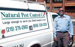 Michael Sands services five state-run correctional facilities. Photo: The Natural Pest Control Co.