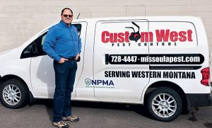 Nate Nunnally says bed bug jobs at correctional facilities often lead to GPC contracts. Photos: Custom West Pest Control