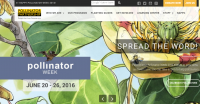 screenshot: www.pollinator.org.