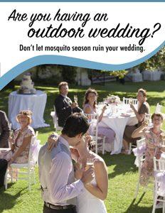 Mosquito Shield wedding contest