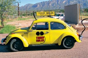 When is a bug like a mouse? When it's a Truly Nolen signature customized Volkswagen. Photo: Truly Nolen