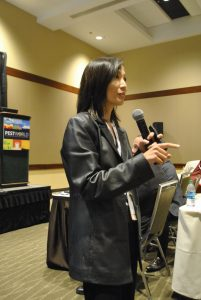 Dr. Faith Oi discusses the realities of mortuary pest management. Photo: PestWorld