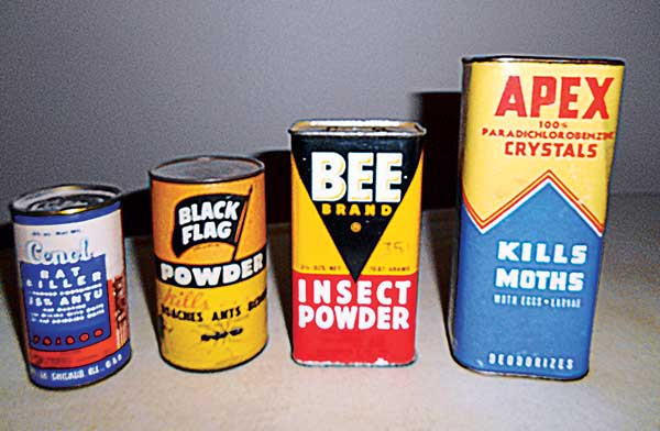 insecticide historian phil allegretti collects pesticide