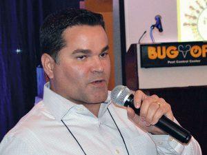 BASF's Dr. Freder Medina (Photo by Marty Whitford)
