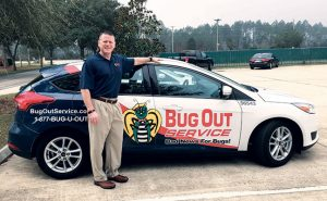 Curtis Rand says Bug Out reaps revenue from custom builders and commercial construction. Photo: Bug Out Service