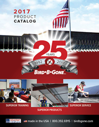 Bird-B-Gone 2017 catalog