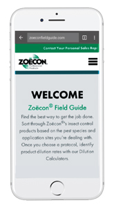 Zoecon Field Guide app