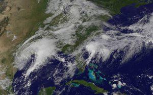 NASA/NOAA Harvey image