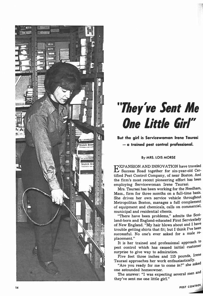 PMP archives December 1968, Irene Taurasi