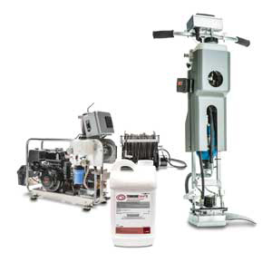 BASF HP II Equipment