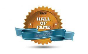 PMP Hall of Fame logo