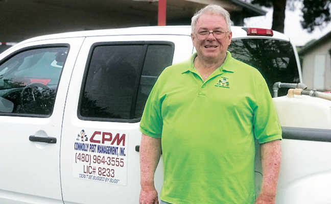 Norman Connolly, Connolly Pest Management