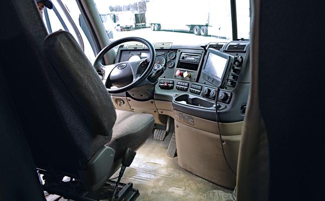 tractor trailer cabin