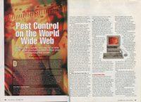 Pest control on world wide web