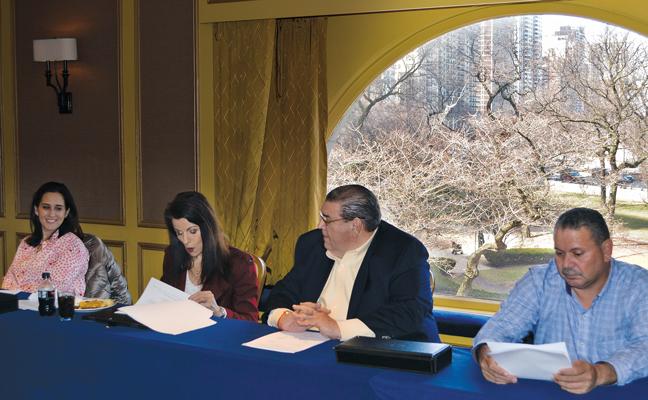 UPFDA business meeting