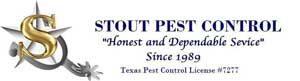 Stout Pest Control Logo