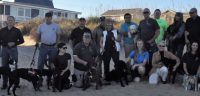 Dog training group photo