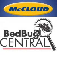 McCloud and Bed Bug Central logos