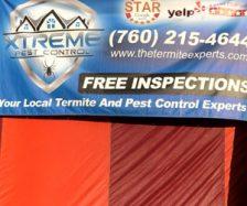 Xtreme Pest Control banner