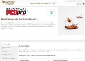 Brownyard website