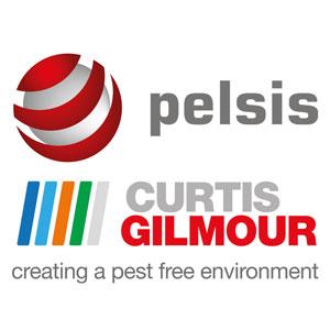 Pelsis Curtis Gilmour logos