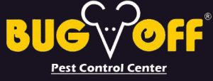 LOGO: Bug Off Pest Control Center