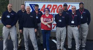 The Milton Service Center team. PHOTO: ARROW EXTERMINATORS