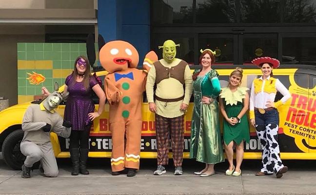 Truly Nolen Halloween Visits