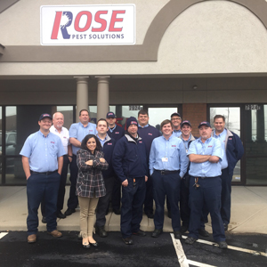 PHOTO: ROSE PEST SOLUTIONS