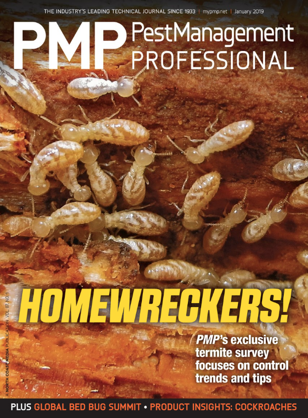 PMP JAN. 2019 COVER, PHOTO: DR. GERRY WEGNER, BCE