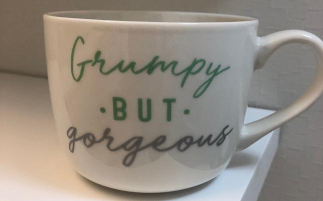 Grumpy mug: HEATHER GOOCH