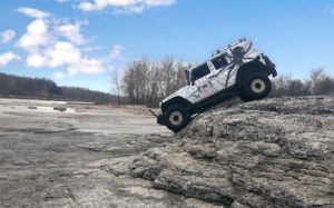 Zoellner Exterminating Jeep