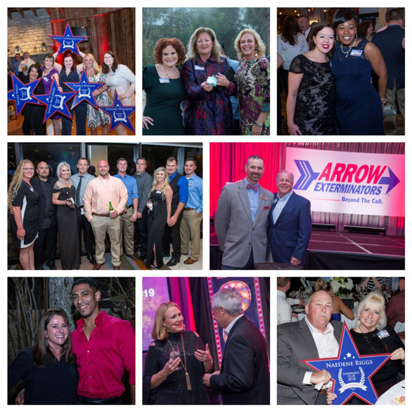 A compilation of photos from the 2019 Pinnacle Club Awards Banquet. PHOTOS: ARROW EXTERMINATORS